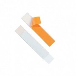 DURABLE Lot de 5 Porte-étiquettes SCHILDFIX (l)200 x (H)40 mm Découpable