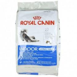 ROYAL CANIN Croquettes pour Chats D'interieur Poils Long 10 kg
