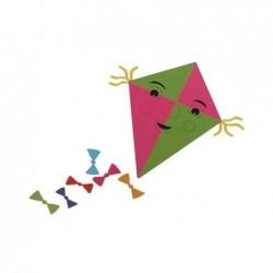 FOLIA Cahier de Papier Transparent 42g 140 x 200 mm 10 feuilles Coloris Assorties