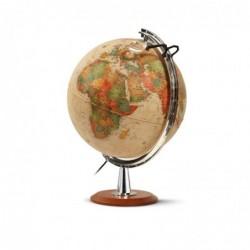 "WONDAY Globe terrestre lumineux 40 cm ""forty"" Antique"