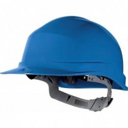 DELTA PLUS Casque de sécurité en polyéthylène avec bandeau de tour de tête réglable EN397 bleu