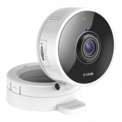 D-LINK Caméra HD 180° mydlinkHome Wifi N IR 5m, Slot µSD