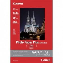 CANON Boîte de 50 Feuilles Papier Photo SG-201 10x15 Cm 1686B015 260g Semi Gloss