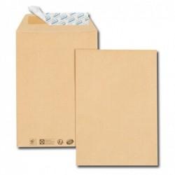 GPV Paquet de 50 pochettes kraft brun C4 229x324 85 g/m² bande de protection