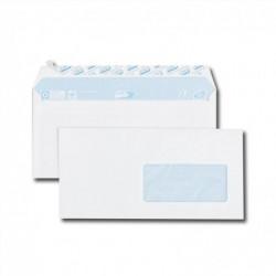 GPV Paquet de 50 enveloppes blanches DL 110x220 75 g