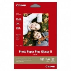 CANON Papier brillant Photo Paper Plus II PP-201 130 x 180mm 260 g/m²  20 feuilles