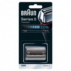 BRAUN Piece De Rechange compatible avec les rasoirs Series 5 - BRAUN 52S Argentée