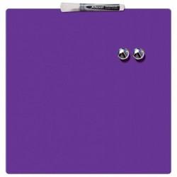 NOBO Quartet Tableau magnétique carré violet 360x360 mm