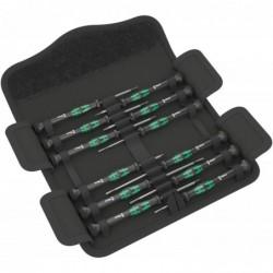WERA Kraftform Micro-Set Jeu de 12 tournevis Haute Qualité