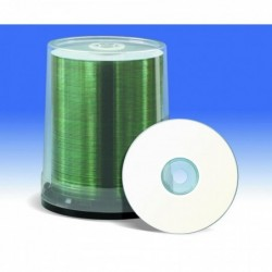 FUJI Spindle de 100 CD-R Imprimable Jet d'encre 52x - 80 Min - 700Mo