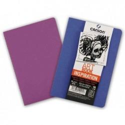 CANSON Carnet esquisse Art Book Inspiration, A4, bleu /