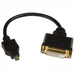 STARTECH.COM Adaptateur vidéo Micro HDMI vers DVI-D de 20 cm