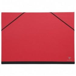CLAIREFONTAINE Carton à Dessin 28x38cm Rouge