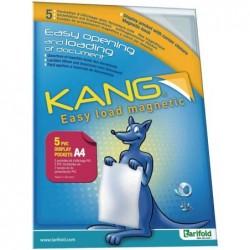 TARIFOLD 5 x Reliure portfolio tindividual KANG Easy load