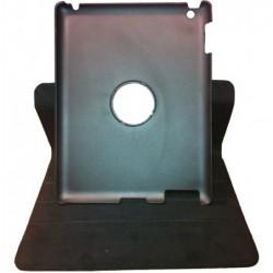 WAYTEX Housse de protect.pour iPad 2-3 noir ou rouge/support écriture orientable