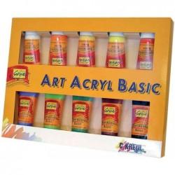 KREUL Kit de 10 Peinture acrylique SOLO Goya 100 ml