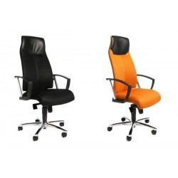 """TOPSTAR Fauteuil de bureau """"High Sit up"""", orange, incl."""
