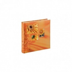"""HAMA Album photo Jumbo """"Singo"""", 30x30 cm, 100 pages blanches, orange"""