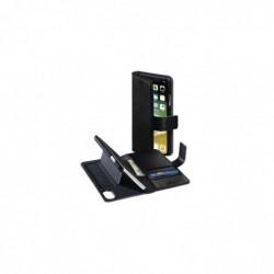 HAMA Étui portefeuille ´Stand-Up´ pour Apple iPhoneX, noir