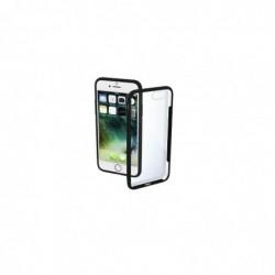 """HAMA Coque """"Frame"""" pour Apple iPhone 7/8, transparente/noire"""