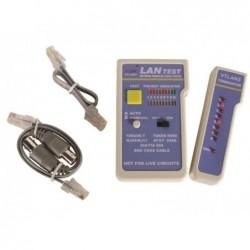 VELLEMAN Testeur réseau multiple RJ11/12/RJ45 et Coax