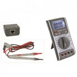VELLEMAN Multimètre 3 en 1 avec testeur de cable reseau