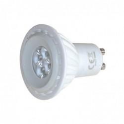 WAYTEX Ampoule GU10 LED 8 Watts 50x56mm blanc chaud 385 lumens