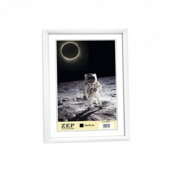 ZEP Cadre Photo New Easy Plastique 30x40 cm Blanc