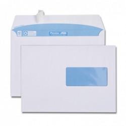 GPV Boîte de 500 enveloppes blanches C5 162x229 90g  45x100 bande de protection