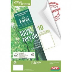 GPV Paquet de 10 pochettes...