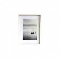 NIELSEN DESIGN Cadre Photo Aura blanc 40x50 bois incl. Passepartout