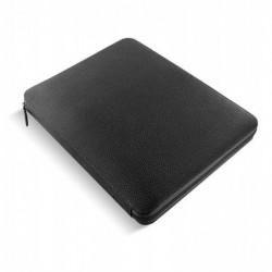 """FILOFAX Conférencier zippé """"Finsbury Zip"""" format A4 coloris noir"""