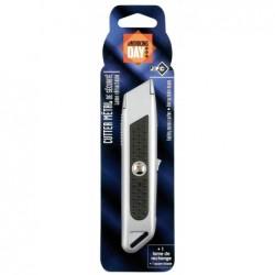 WONDAY Cutter sécurité métal Lame 18 mm