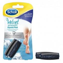 SCHOLL Velvet Smooth Kit de 2 Rouleaux de Remplacement Grain Extra Exfoliant