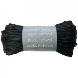 CLAIREFONTAINE Raphia naturel, noir