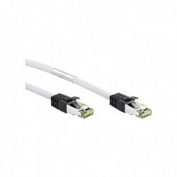 GOOBAY Câble Patch S/FTP (PiMF) cat 8.1 LSZH halogen-free, CU material 5 m Blanc