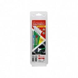 VISIBLE DUST Kit Nettoyage Lentilles DUALPOWER-X 1.0x Extra Strength MXD100 Green Swab