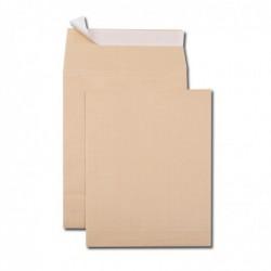 GPV Paquet de 5 sacs à soufflets kraft armé brun 24 260x330 130 g