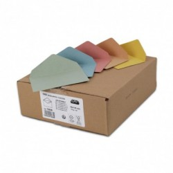 GPV Assortiment de 1000 enveloppes élection recyclées 90x140 75 g/m²