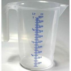 IWH Pichet gradué, transparent, contenu: 1 litre