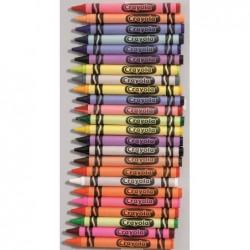 CRAYOLA Pochette de 16 crayons à la cire pailletée