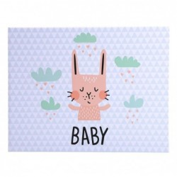 EXACOMPTA Album livre 30p. blc 28,5x22cm BABY gris