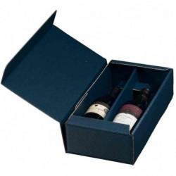 SMARTBOXPRO carton cadeau bouteille de vin, pour 2 bouteille