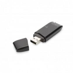 DIGITUS Multi-lecteur de carte USB2.0