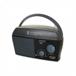 ADLER EUROPE Radio AD 1119 Noir
