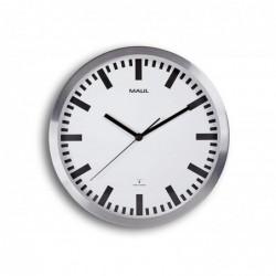 MAUL horloge murale - Diamètre: 300 mm - Argent  Pilote contrôlé par la radio