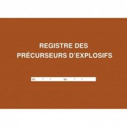 ELVE Registre des précurseurs d'explosifs, 210 x 297 mm