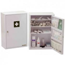 LEINA-WERKE Armoire à pharmacie Medisan D Non équipée dim (L)400 x (P)200x(H) 580 mm Blanc