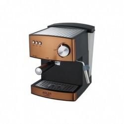 ADLER EUROPE Machine à expresso AD4404cr pompe 15 Bar / 850W