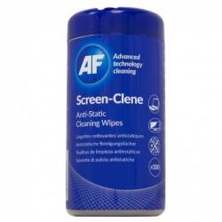 AF Boite de 100 lingettes antistatiques pour écrans Screen-Clene